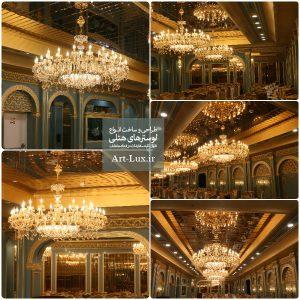عکس لوستر هتل درویش مشهد