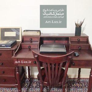 میز مطالعه چوبی